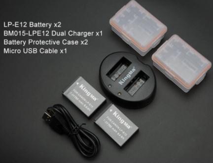 Jual Battery Canon EP12 Batam Kamera
