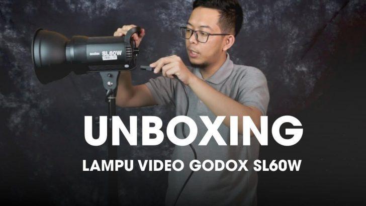 Lampu Godox SL60W Owner Batam Kamera - Ali Majid Wardana
