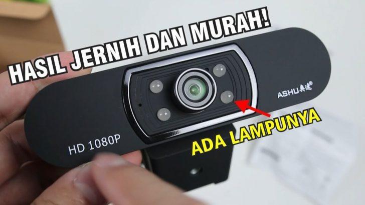 Review Webcam Ashu H800 Full HD Indonesia Batam Kamera