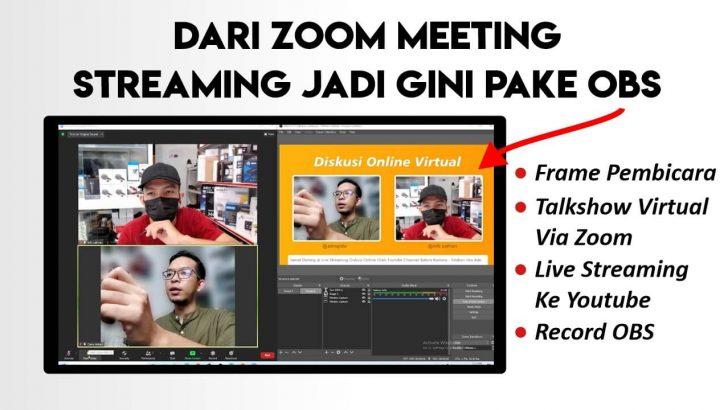 Tutorial Melayout Zoom Meeting di OBS Untuk Live Streaming dan Mendesain Layout