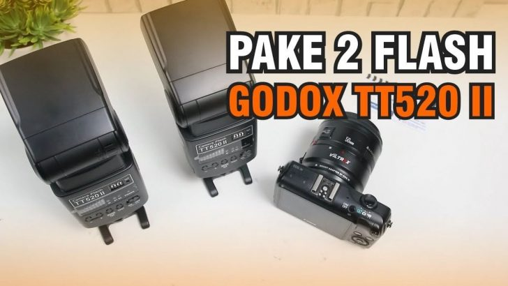 Turorial Cara Menggunakan Dua Flash Godox TT520 II Batam Kamera Youtuber
