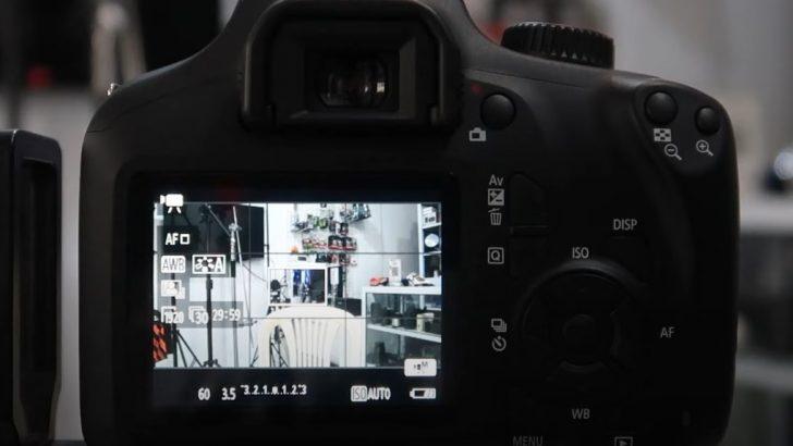 Cara Setting Kamera CANON 3000D 4000D Untuk Video