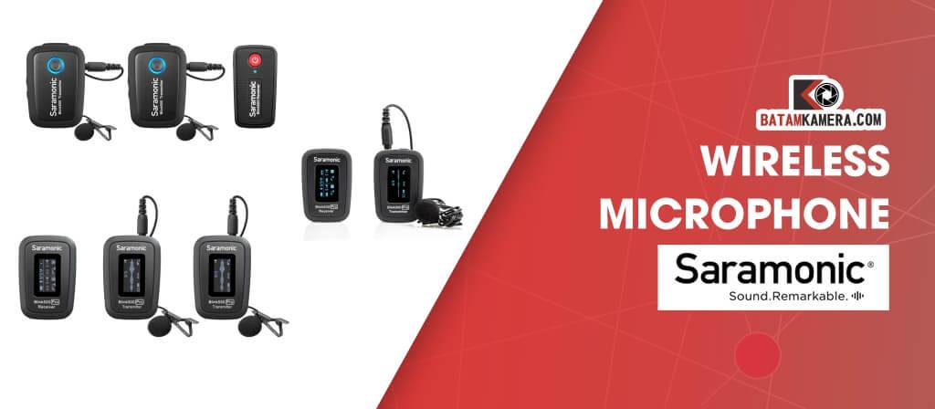 Jual Mic Saramonic Wireless Batam